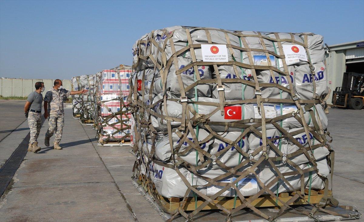 Türkiye, depremin ardından Haiti ye yardım gönderdi #1