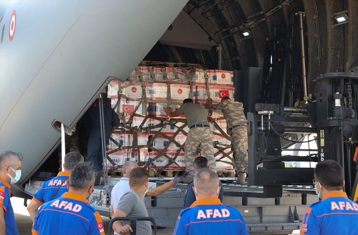 Türkiye, depremin ardından Haiti ye yardım gönderdi #10