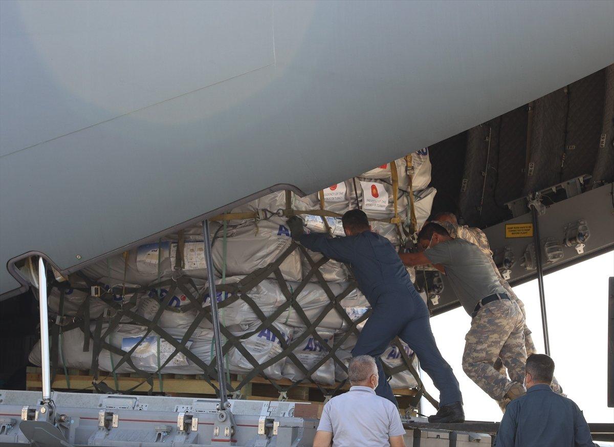 Türkiye, depremin ardından Haiti ye yardım gönderdi #6
