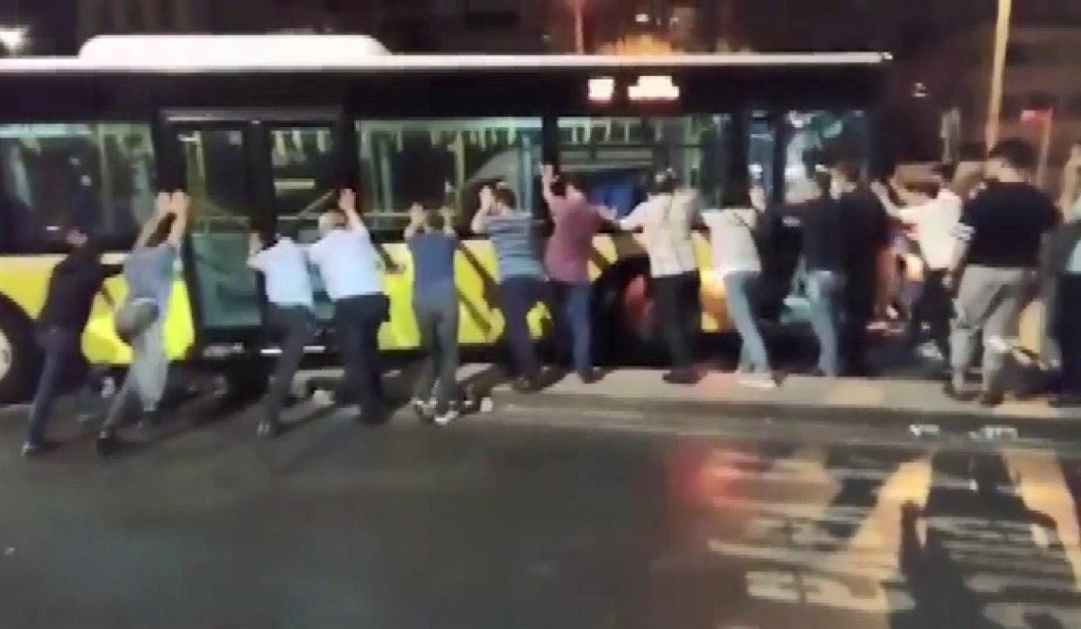 İstanbul da son arızalı İETT vakası Sancaktepe de #4