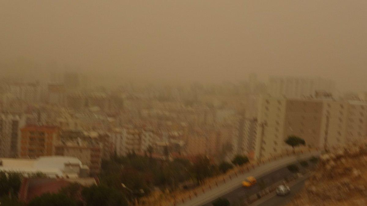 Mardin de toz fırtınası #1