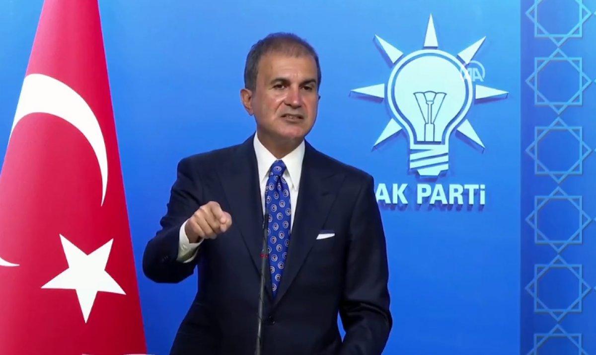 Ömer Çelik: Türkiye göçmen kampı değildir #1