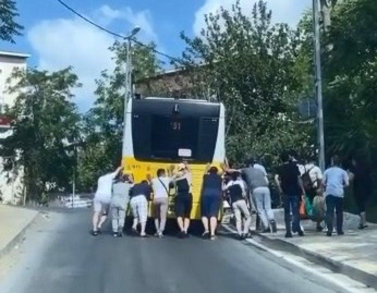 İstanbul da son arızalı İETT vakası Sancaktepe de #2
