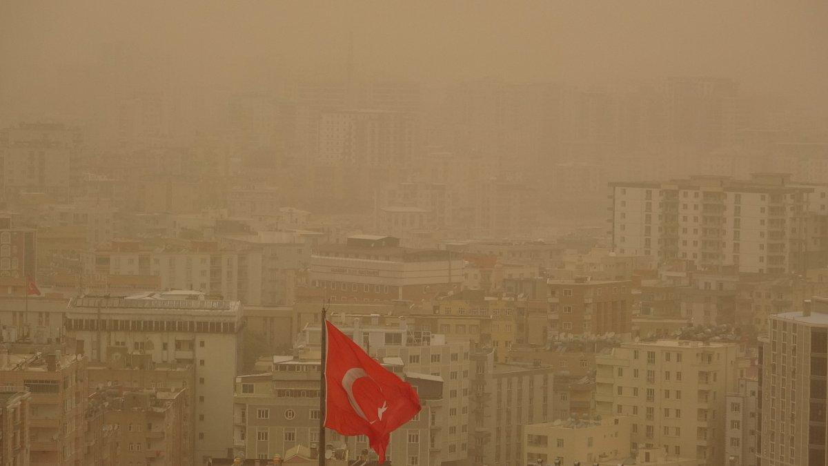 Mardin de toz fırtınası #2