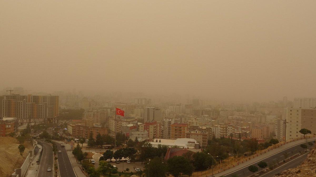 Mardin de toz fırtınası #3