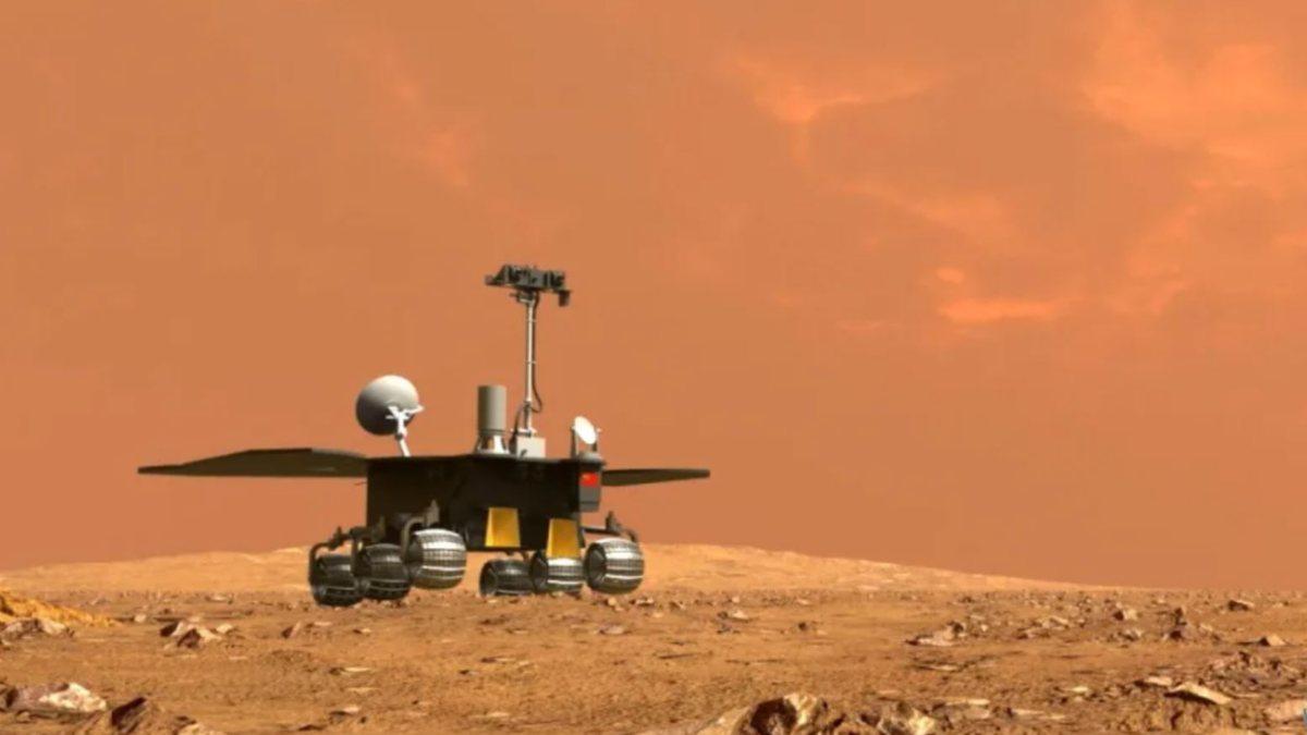 Çinin Mars aracı Zhurong, tüm görevlerini tamamladı