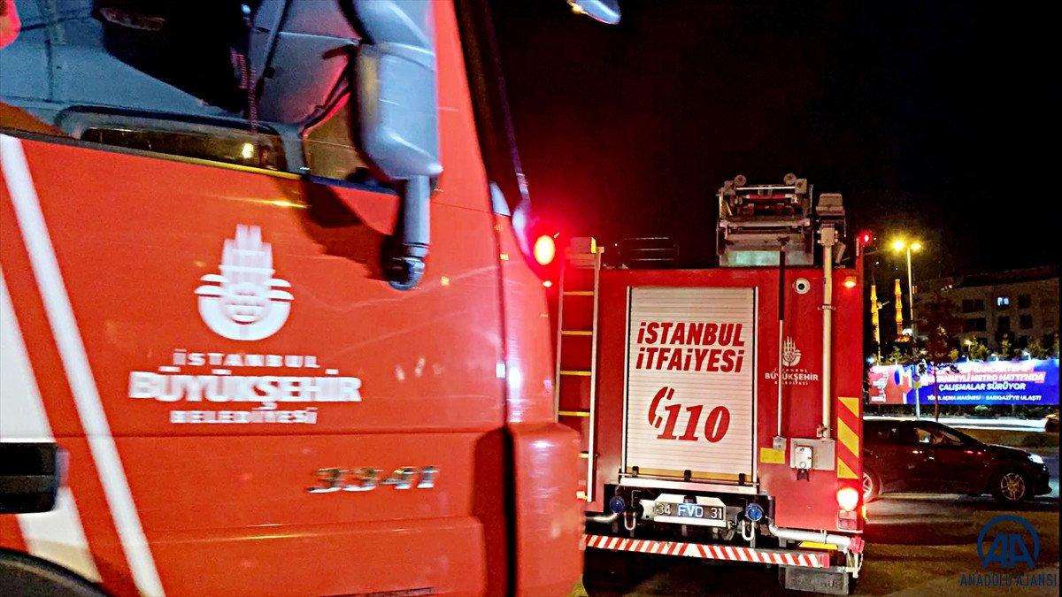 Heybeliada daki yangın söndürüldü #3