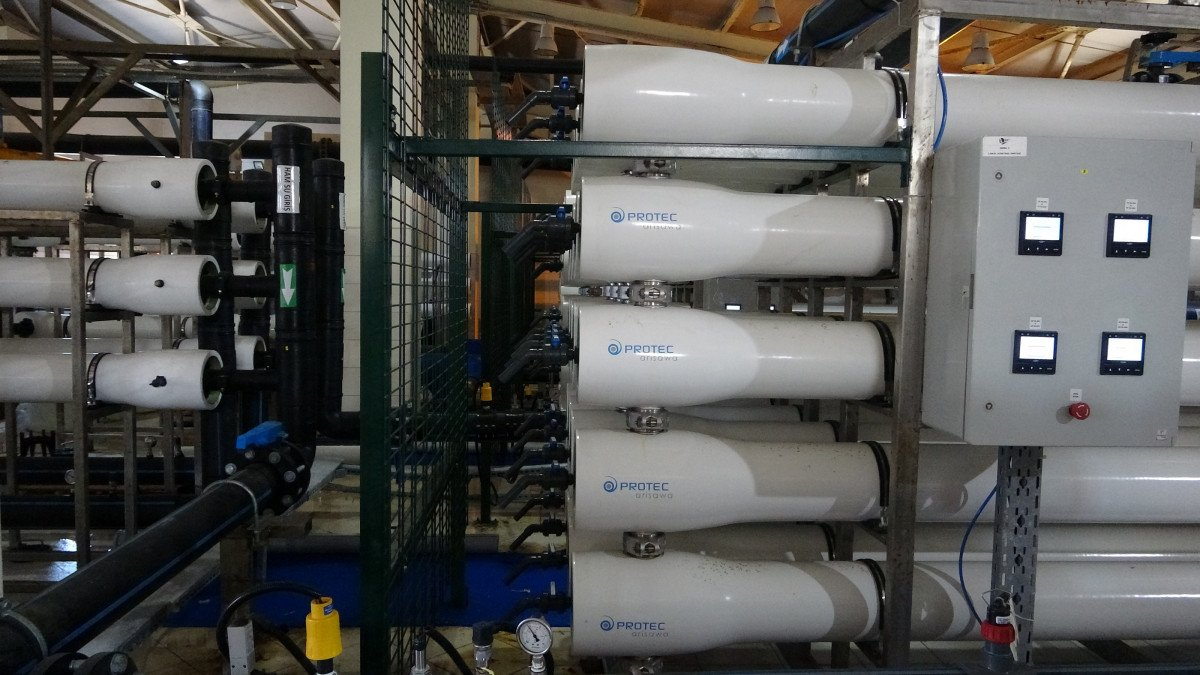 Avşa Adası nda deniz suyu içme suyuna dönüştürülüyor #8