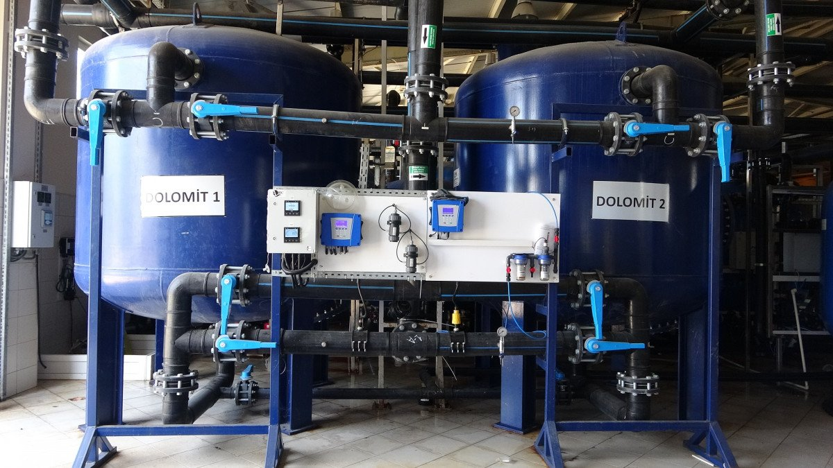 Avşa Adası nda deniz suyu içme suyuna dönüştürülüyor #7