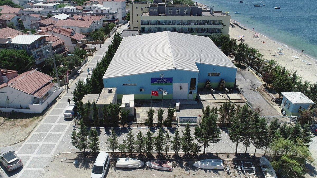 Avşa Adası nda deniz suyu içme suyuna dönüştürülüyor #1