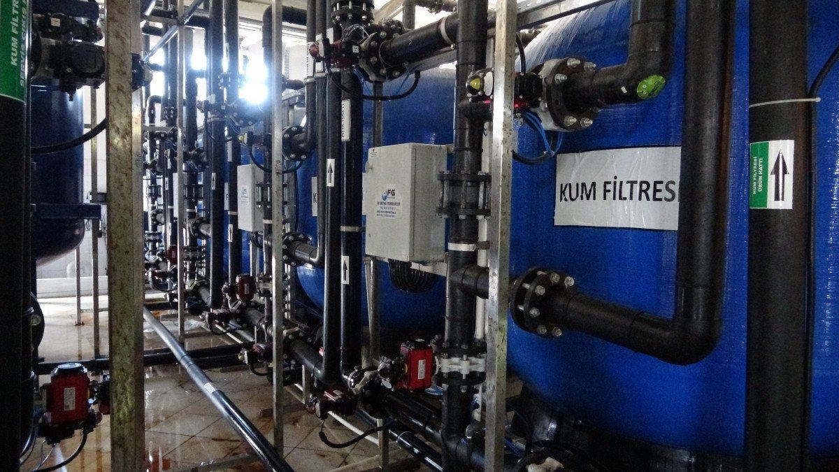 Avşa Adası nda deniz suyu içme suyuna dönüştürülüyor #4