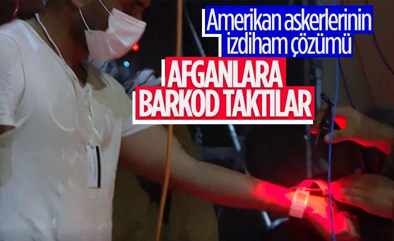 Kabil'den tahliyelerde ABD barkod sistemi kullanıyor