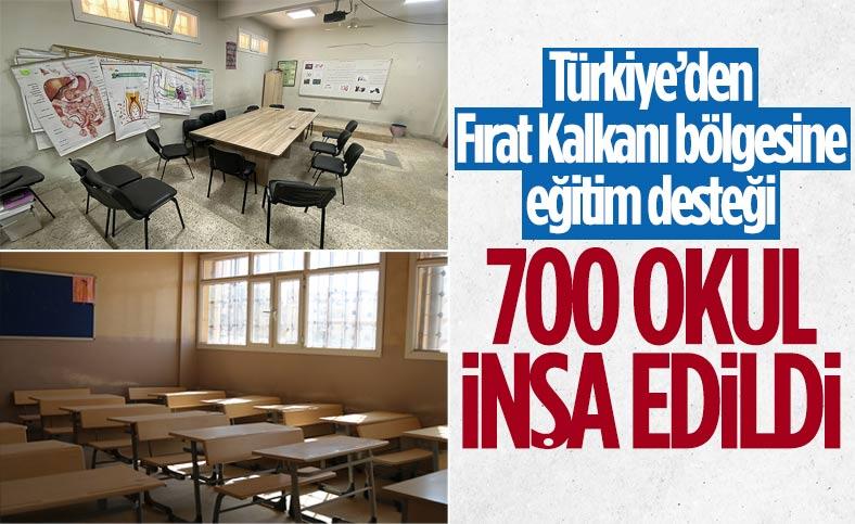 Fırat Kalkanı bölgesinde eğitim seferberliği: 700 okul eğitime hazır