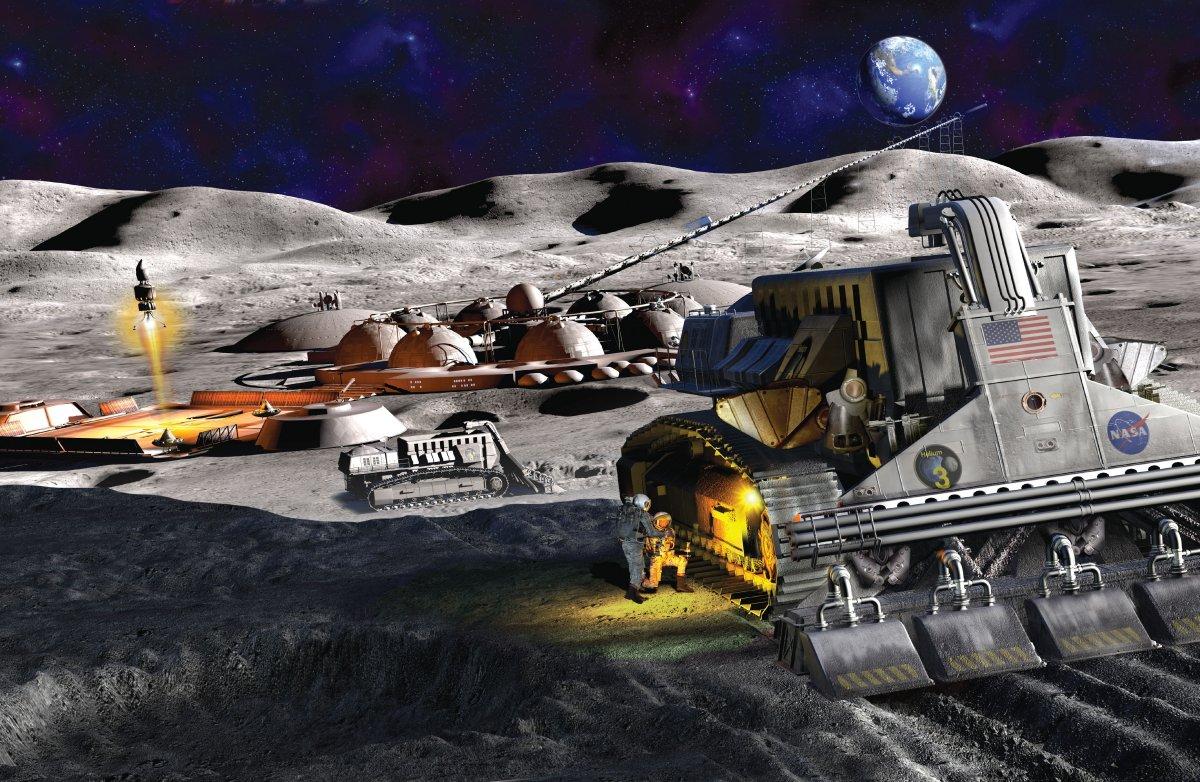 NASA, Ay madenciliği yarışmasında 500 bin dolar dağıttı #1