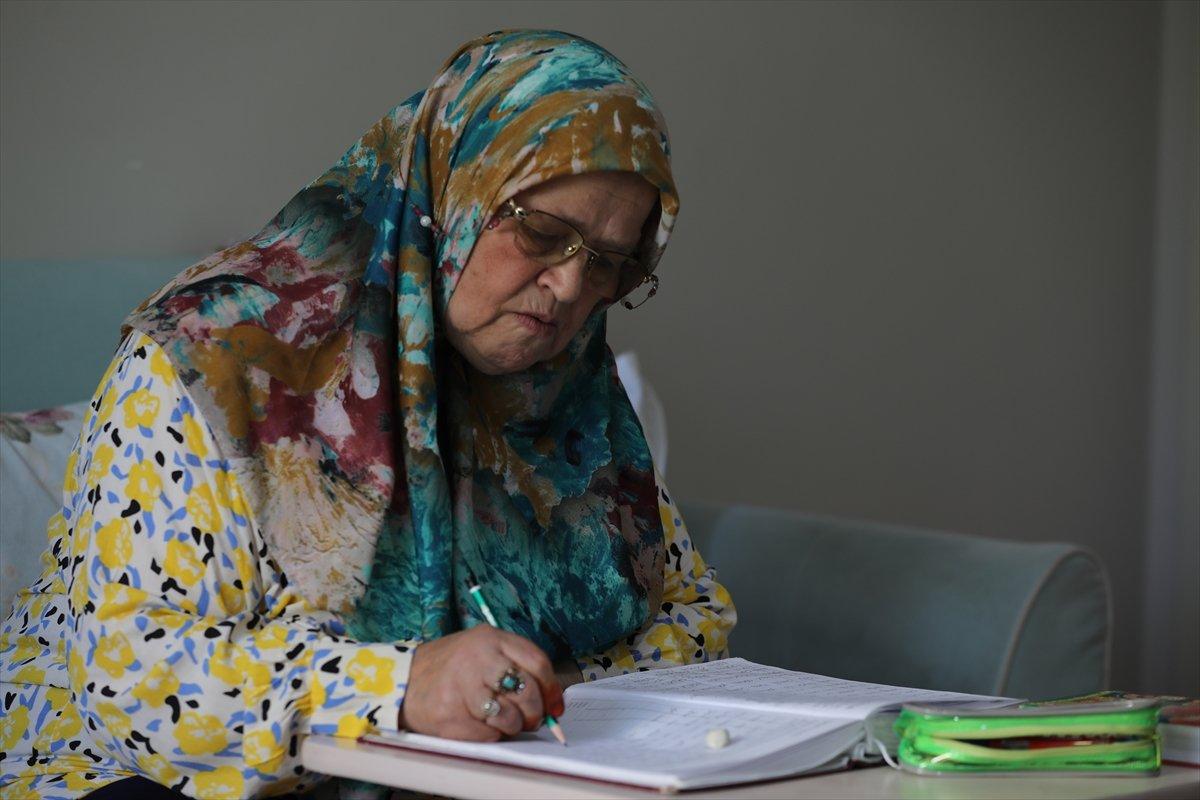 71 yaşında okuma yazma öğrenen Ayşe Teyze nin hayat hikayesi kitap oldu #1