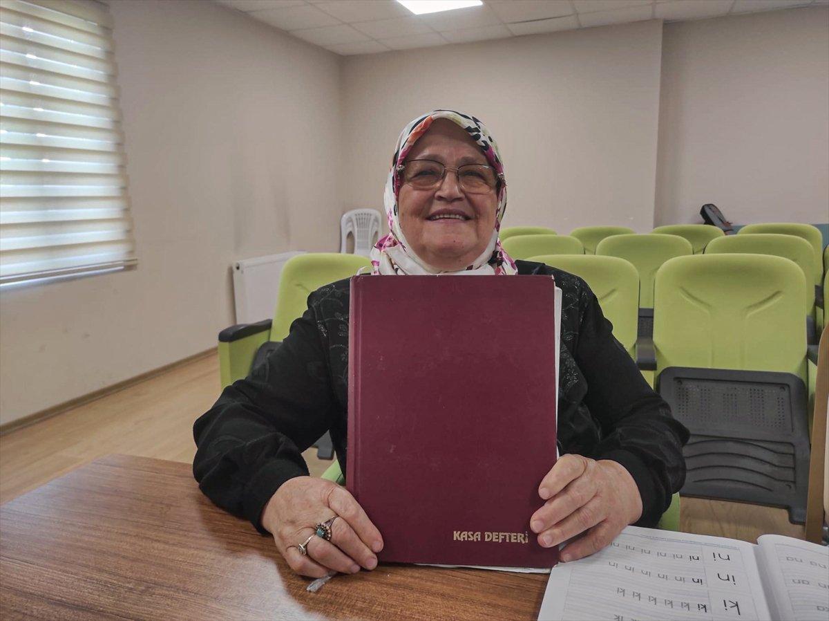 71 yaşında okuma yazma öğrenen Ayşe Teyze nin hayat hikayesi kitap oldu #2