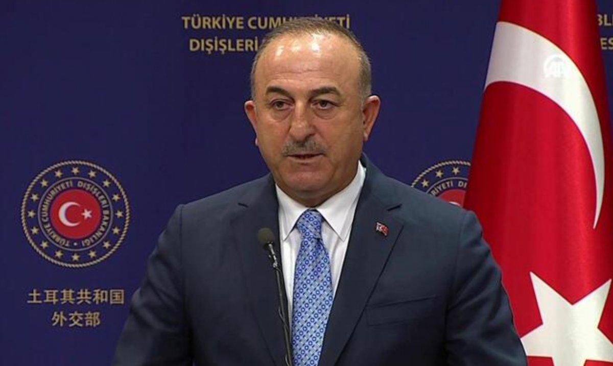 Mevlüt Çavuşoğlu ndan  göç merkezi  açıklaması: Muhalefet teyit edebilirdi #1