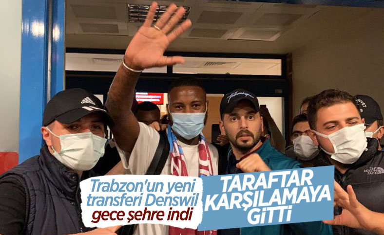 Stefano Denswil, Trabzonspor için geldi
