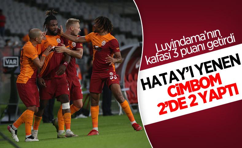 Galatasaray, Hatayspor'u mağlup etti