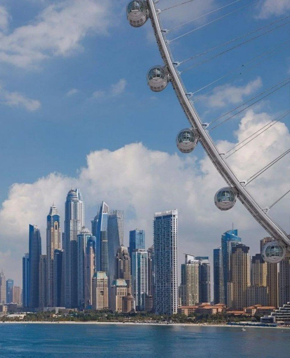 Dubai de 1750 kişilik dünyanın en büyük dönme dolabı #6
