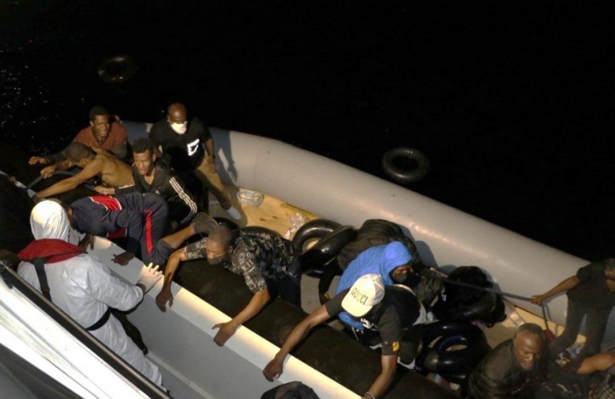 Çanakkale de 59 düzensiz göçmen kurtarıldı #1