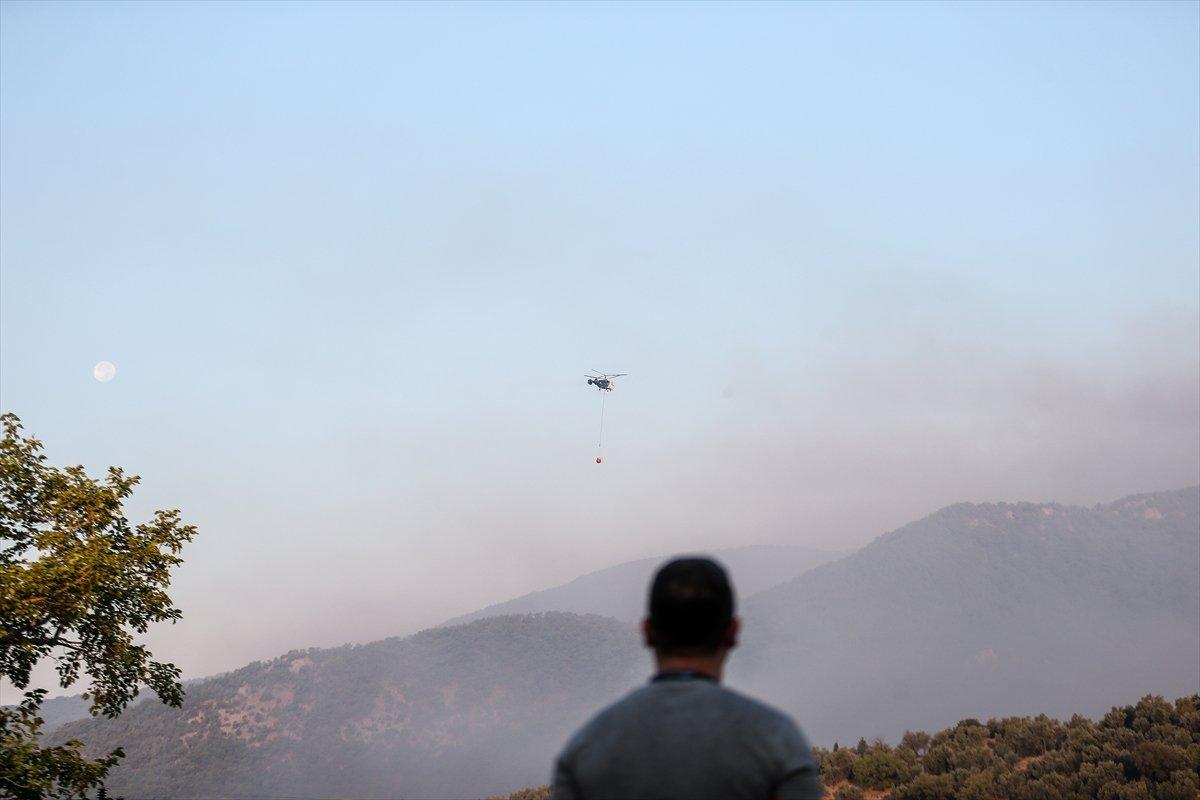 Kaz Dağları'nda yangın devam ediyor #7