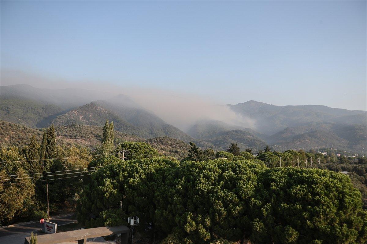 Kaz Dağları'nda yangın devam ediyor #9