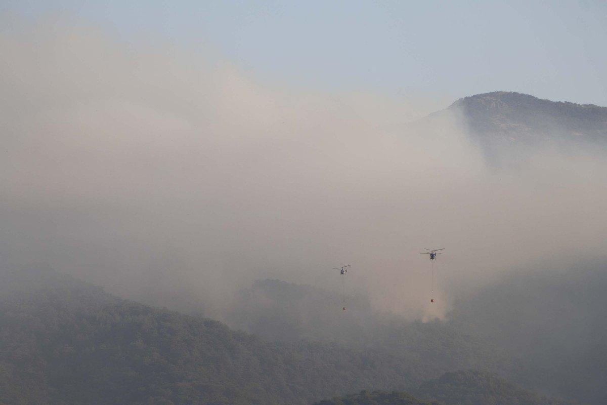 Kaz Dağları'nda yangın devam ediyor #5