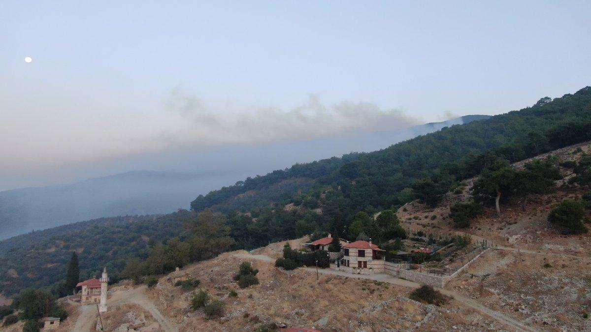 Kaz Dağları'nda yangın devam ediyor #2