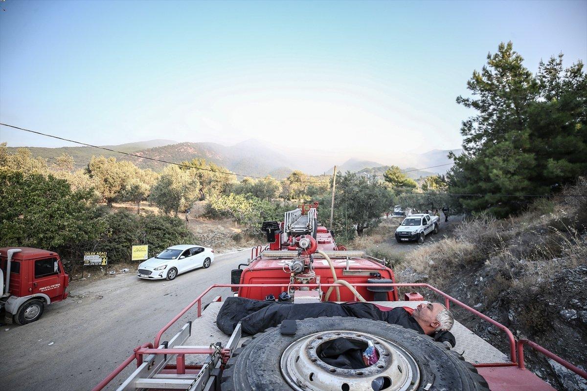 Kaz Dağları'nda yangın devam ediyor #10