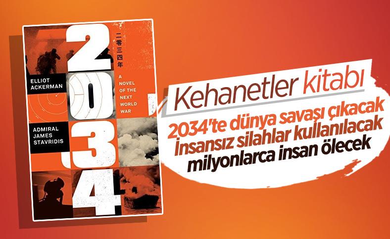 ABD'de yayınlanan '2034 Dünya Savaşı Senaryosu' kitabı tartışılıyor