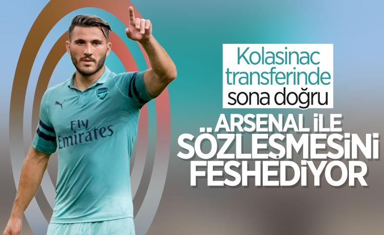 Fenerbahçe Kolasinac transferinde sona yaklaştı