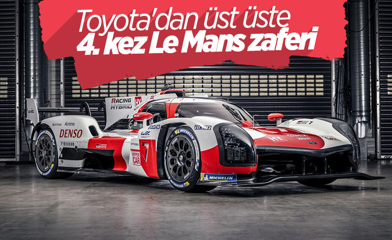 Toyota Gazoo Racing, Le Mans'ta üst üste 4. kez kazandı
