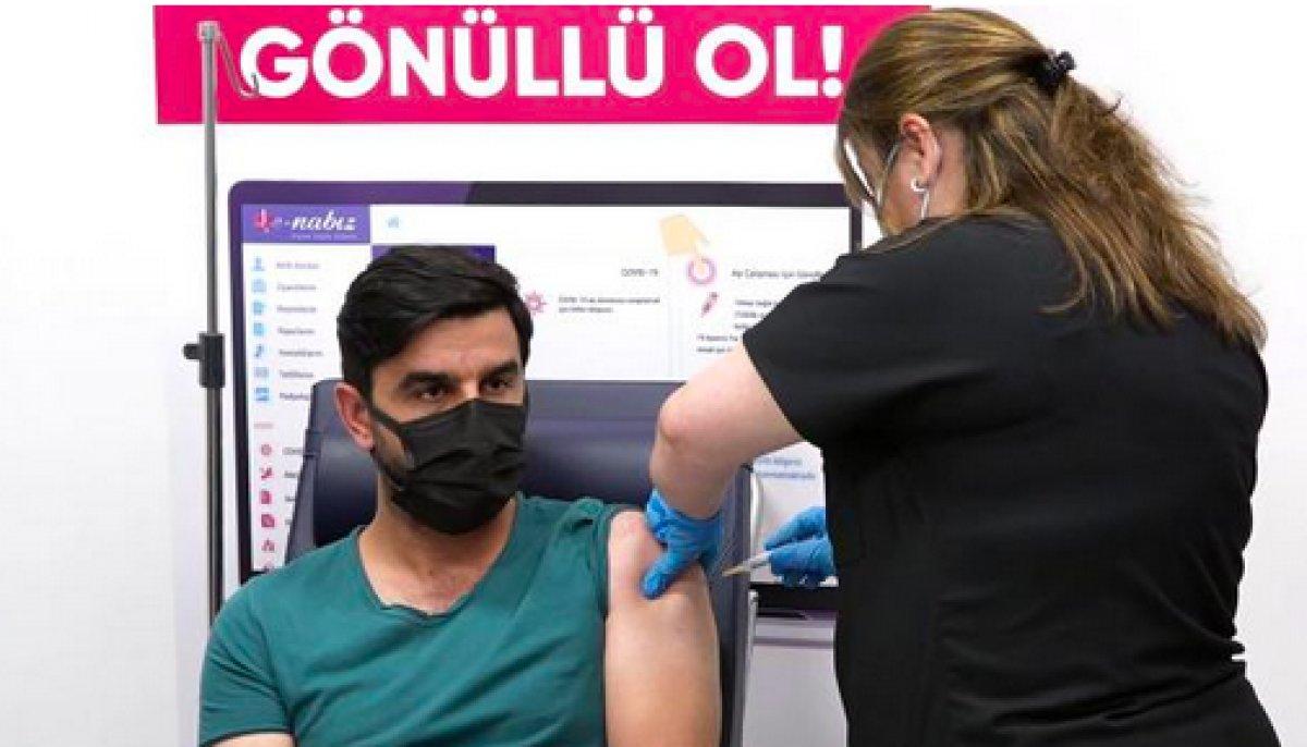 Kayseri de Türk aşısı, faz 3 çalışması kapsamında gönüllülere uygulanmaya başlandı #2