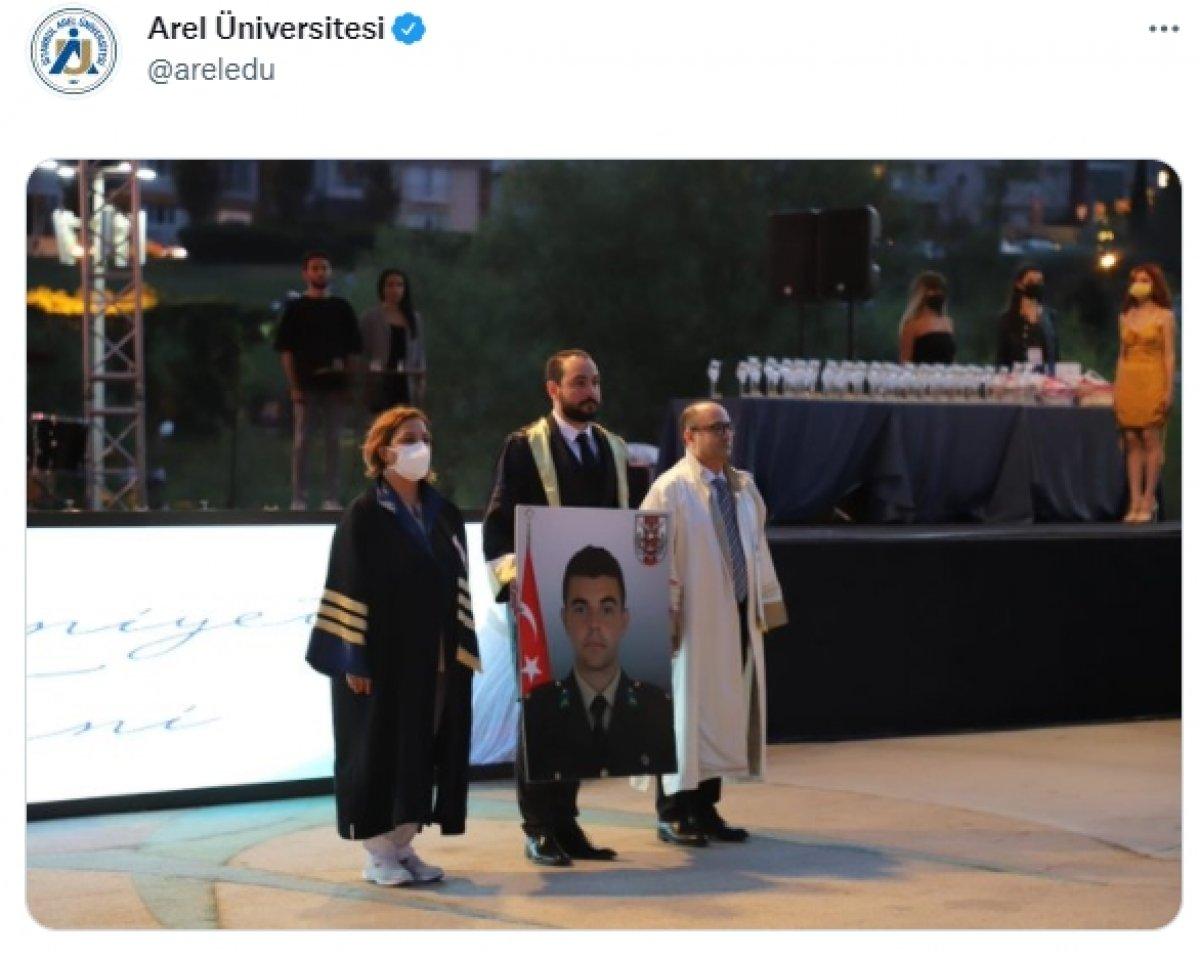 Şehit İsmail Can Softa ya mezun olduğu üniversiteden saygısızlık  #2