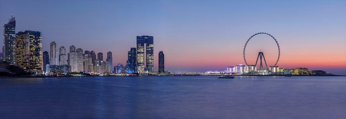 Dubai de 1750 kişilik dünyanın en büyük dönme dolabı #12