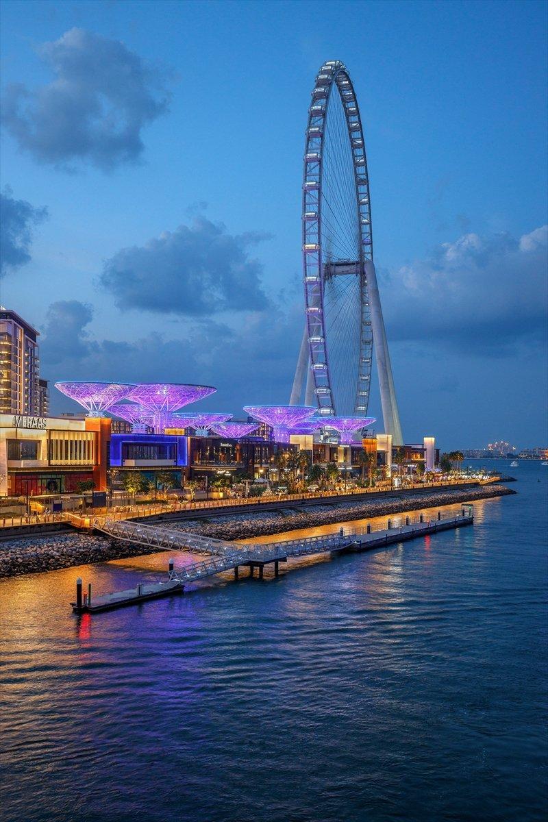Dubai de 1750 kişilik dünyanın en büyük dönme dolabı #10