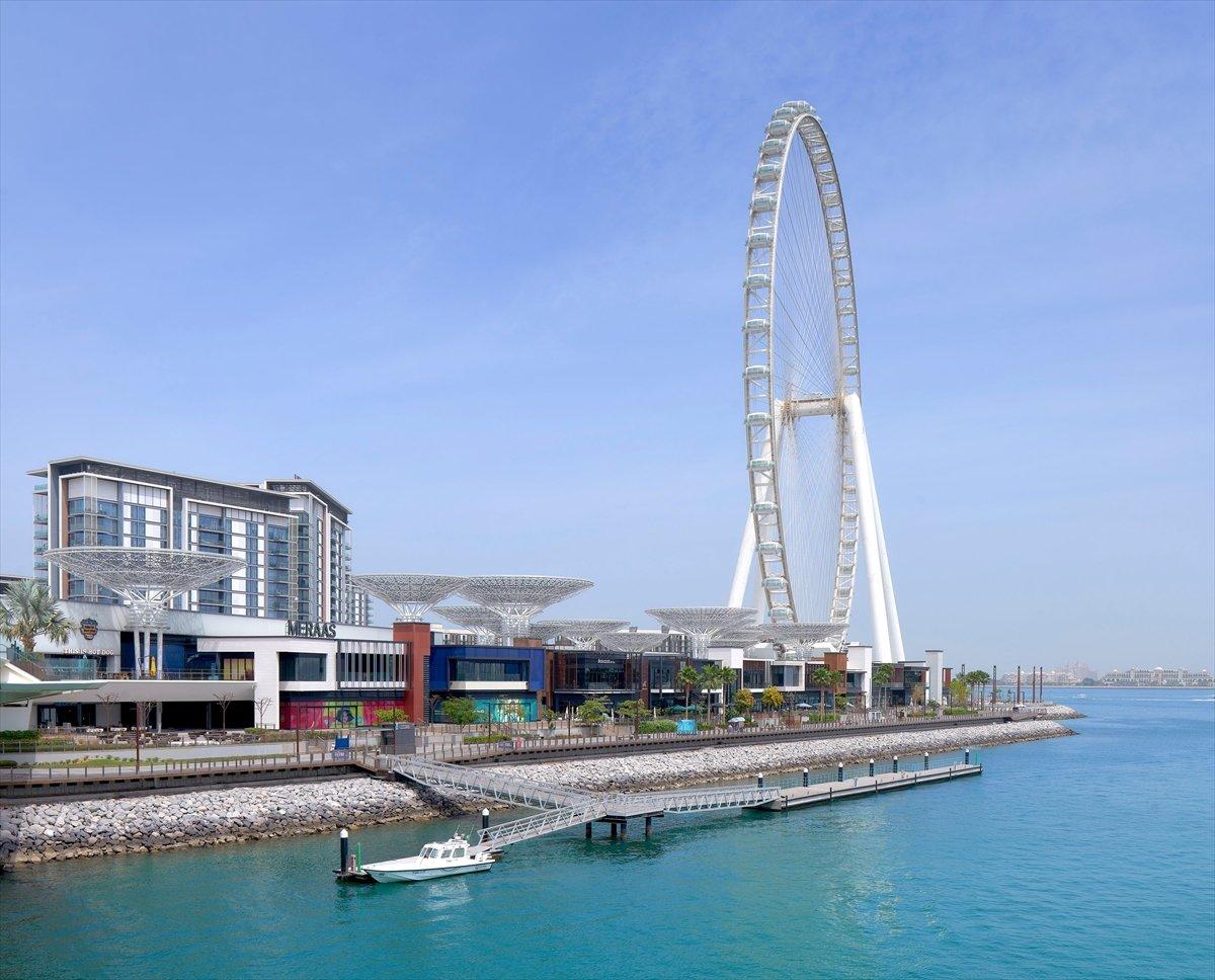Dubai de 1750 kişilik dünyanın en büyük dönme dolabı #11