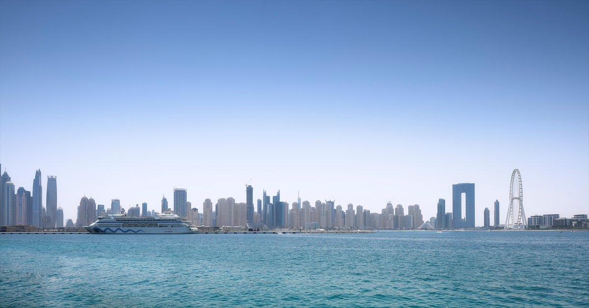 Dubai de 1750 kişilik dünyanın en büyük dönme dolabı #8