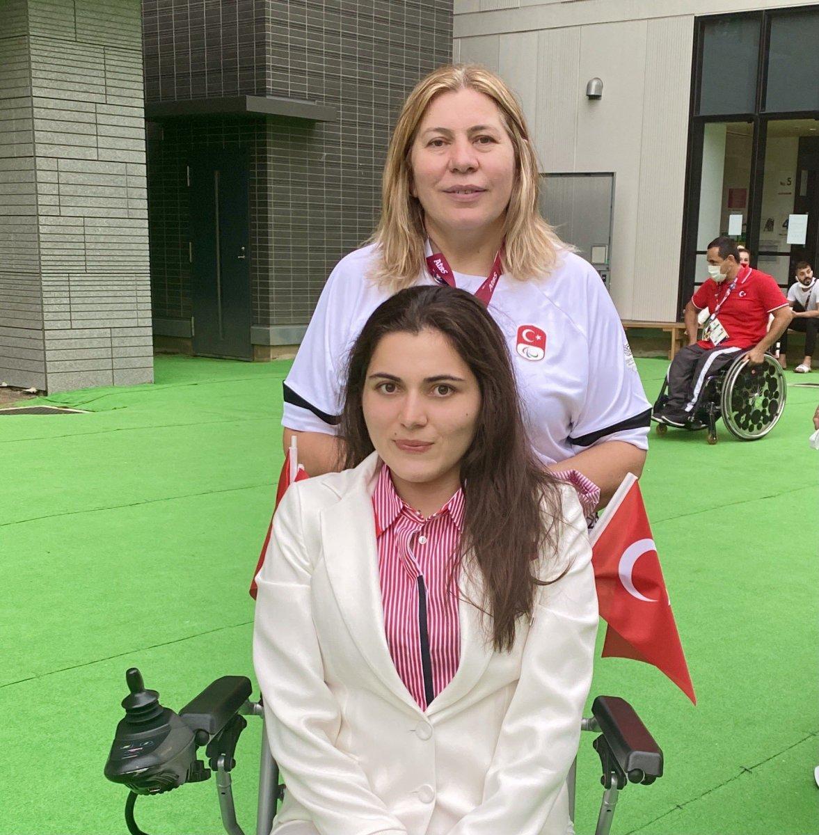 Milli yüzücü Elif İldem, Tokyo Paralimpik Oyunları nda finalde #1