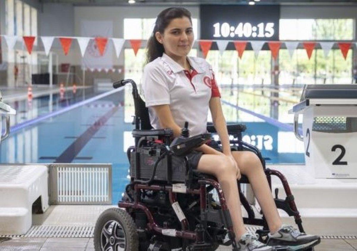 Milli yüzücü Elif İldem, Tokyo Paralimpik Oyunları nda finalde #3