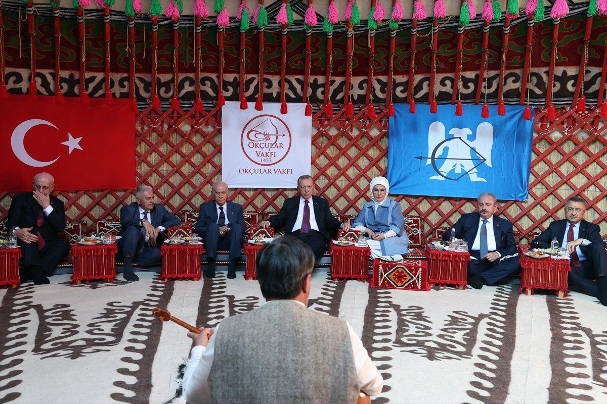 Cumhurbaşkanı Erdoğan, Malazgirt Zaferi için düzenlenen törene katıldı #5