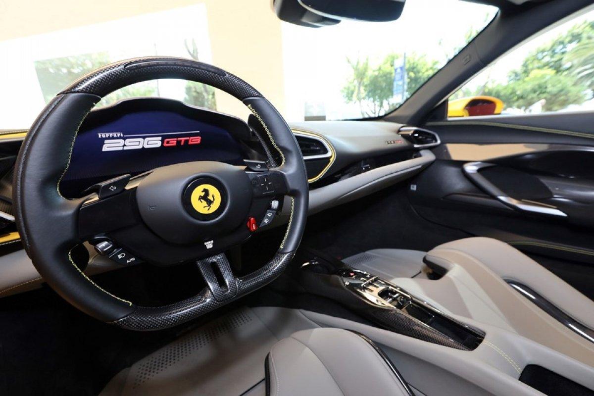 Ferrari 296 GTB Türkiye ye geldi #2
