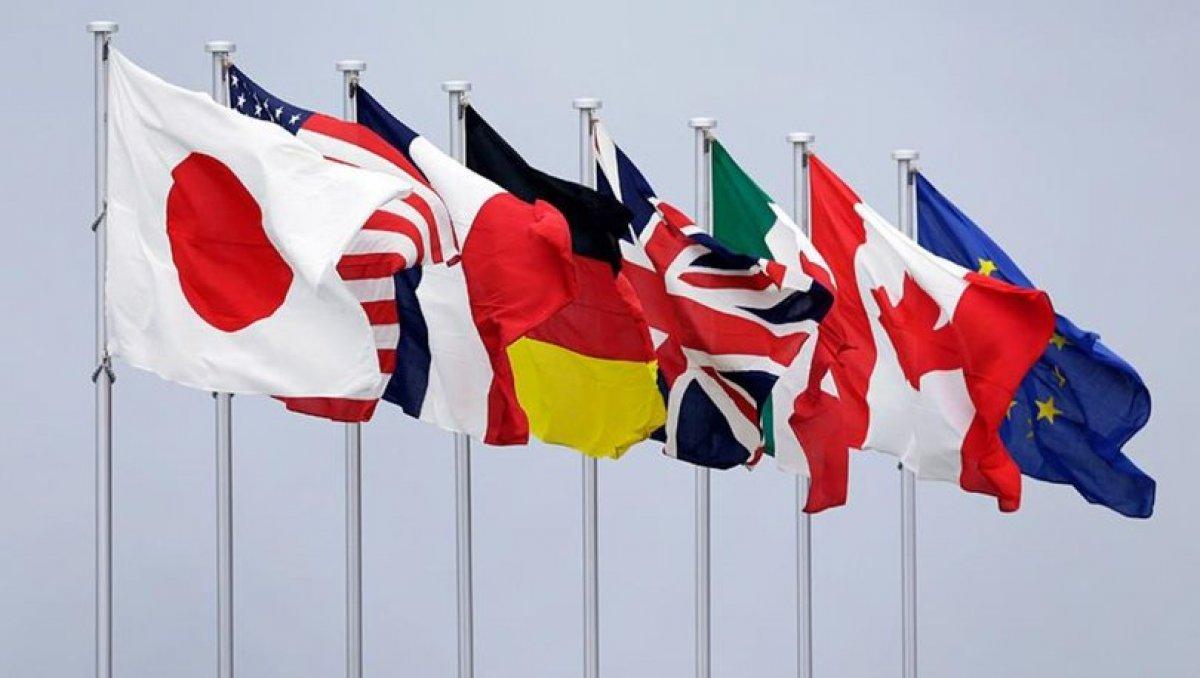 G7 den Afganistan açıklaması #5