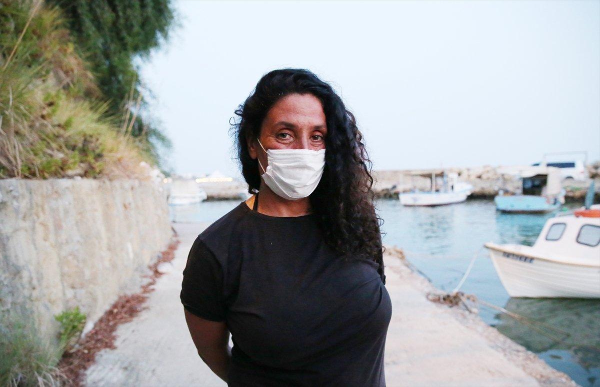 Antalya da orman yakan şahsı ihbar eden kadın, gerekeni yaptığını söyledi #1