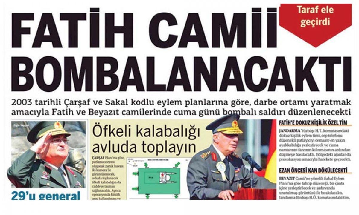 Tuğgeneral Nail İlbey e FETÖ tarafından cami bombalayacak iftirası #1