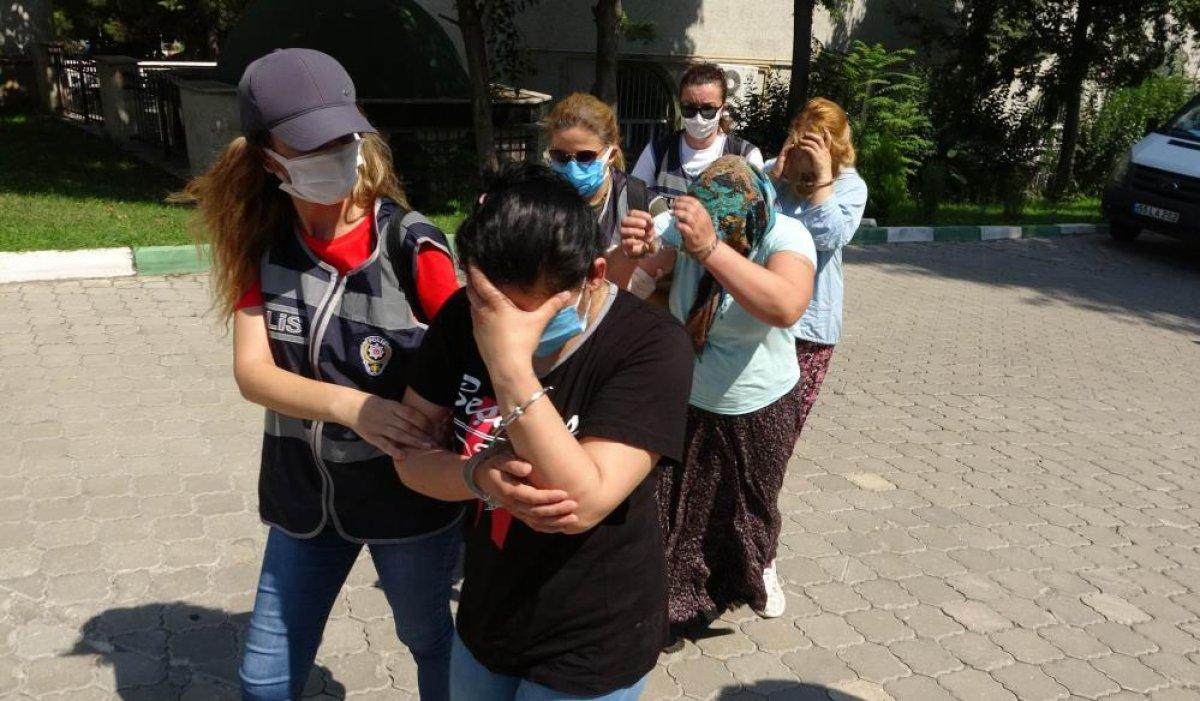 Samsun da kadınlar lüks araçla hırsızlık yaptı #5