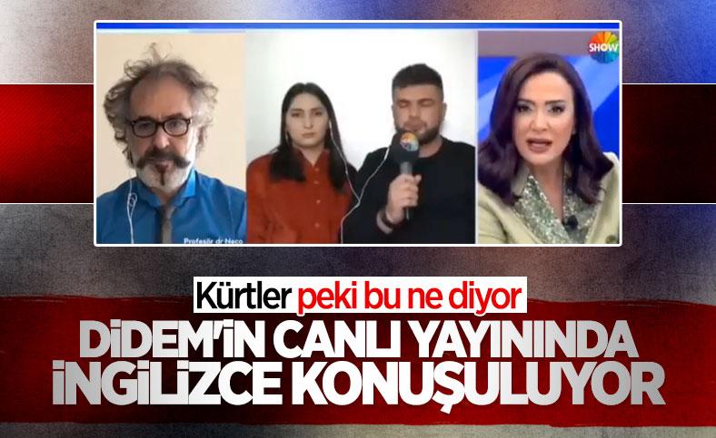 Didem Arslan Yılmaz'ın konukla İngilizce konuştuğu yayın