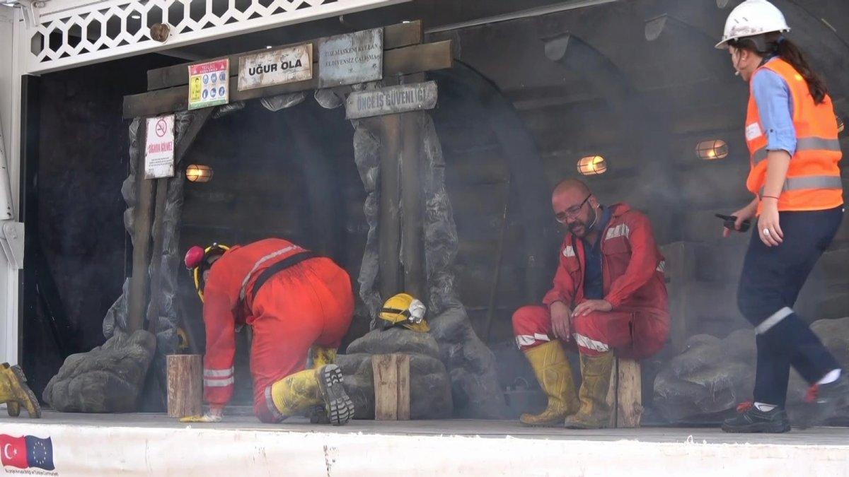 Madenlerdeki iş güvenliği tiyatro ile anlatılıyor #1
