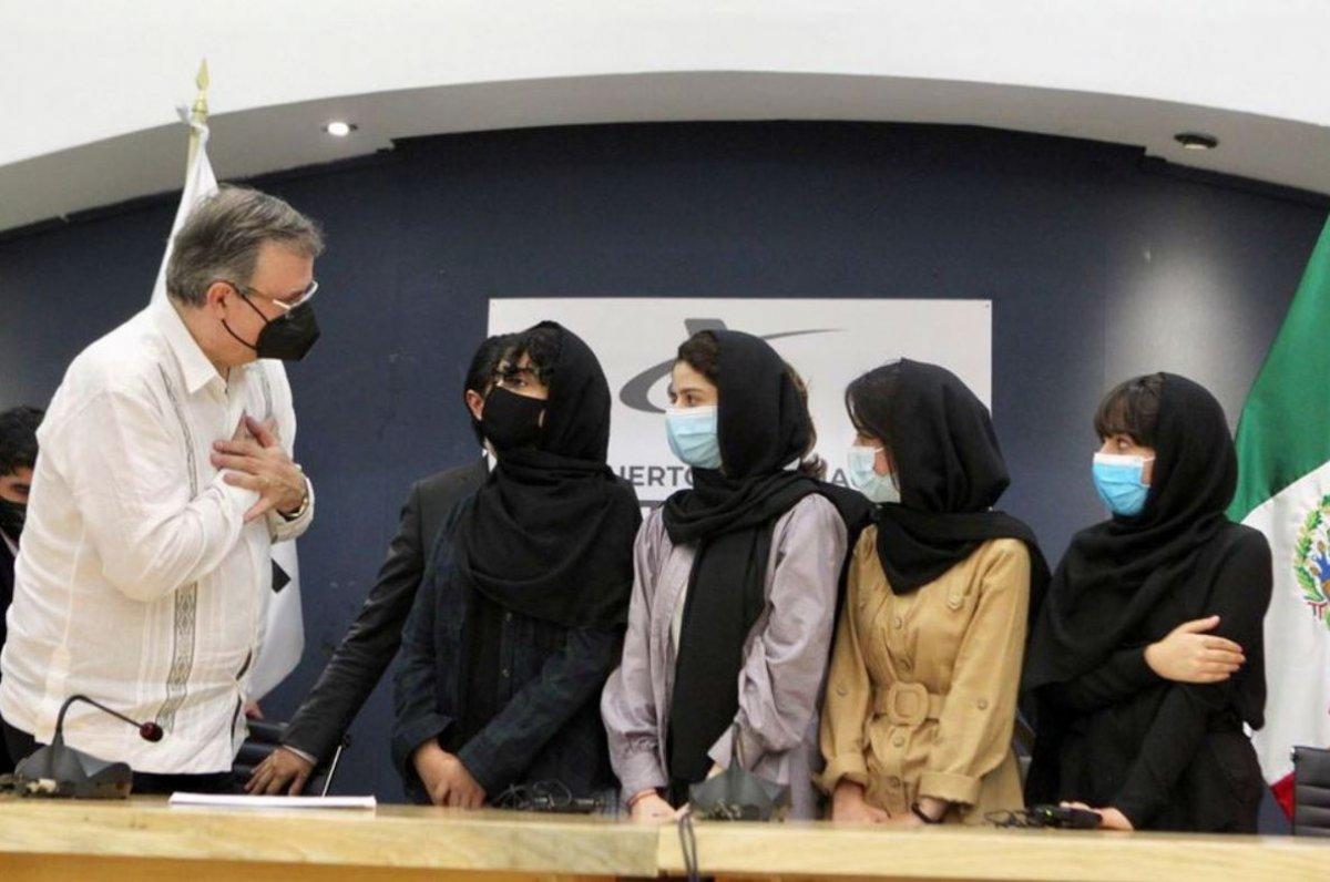 Meksika, Afgan robotik ekibi üyelerini mülteci olarak kabul etti #6